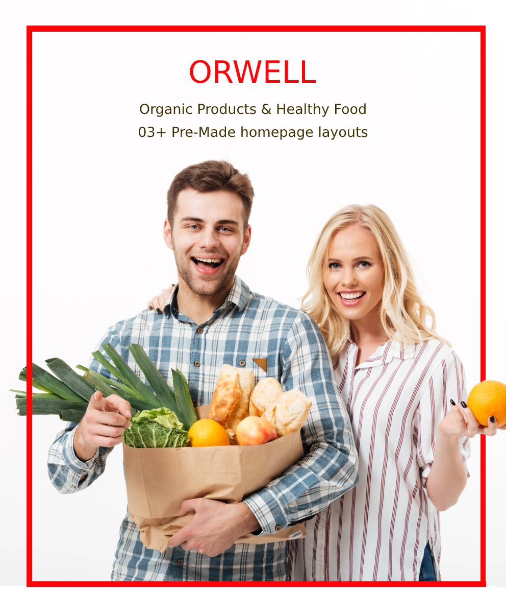 Orwell - Organic Food Store - Healthy Shop - 2